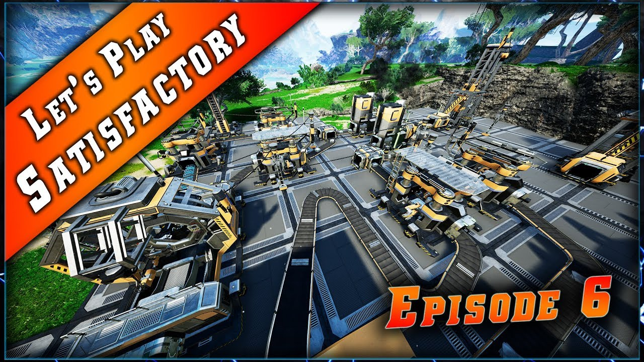 Episode 6 du Let's play sur Satisfactory !