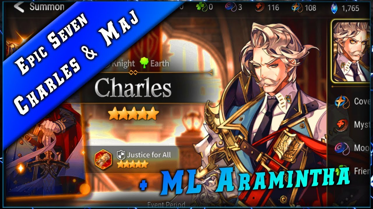 Epic Seven • Charles & Maj Equipement ► [ Epic7 FR ]