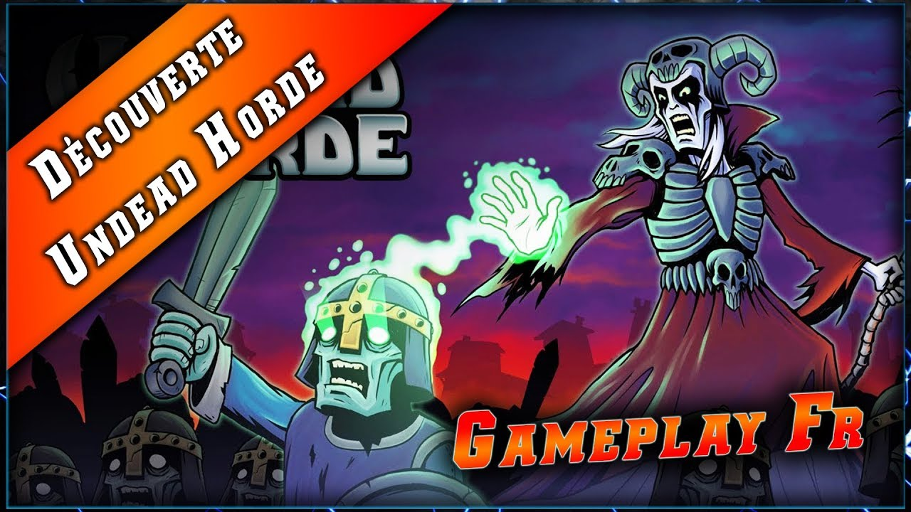 UNDEAD HORDE • Exterminer les Humains ► Découverte & Gameplay