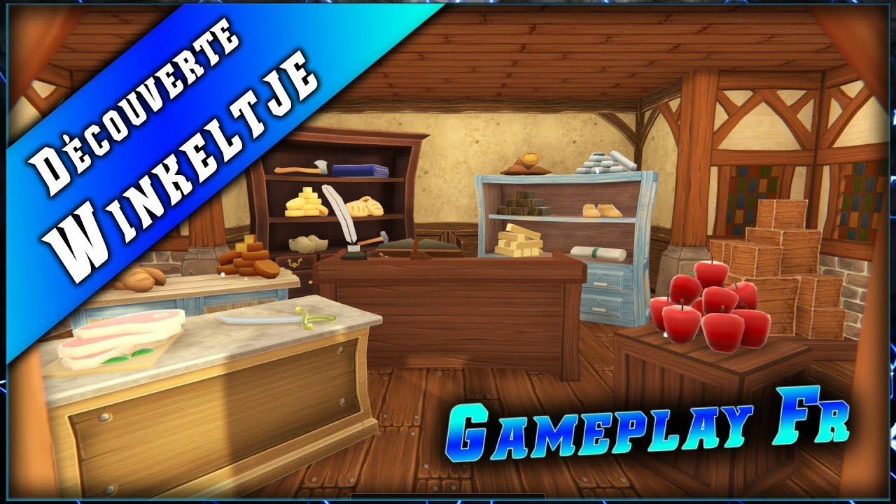 Winkeltje • Gérer son magasin et gagner en réputation ► Découverte & Gameplay