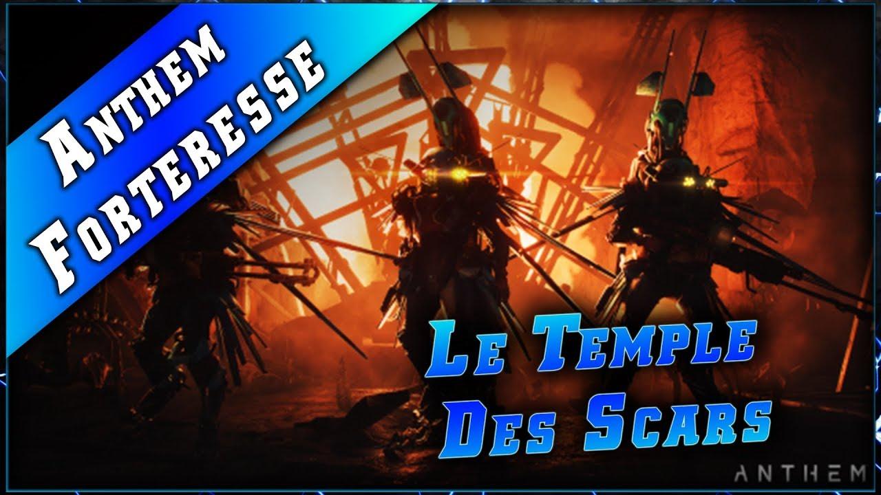 Anthem • Forteresse Le Temple des Scars & Combo ► Anthem Gameplay Fr