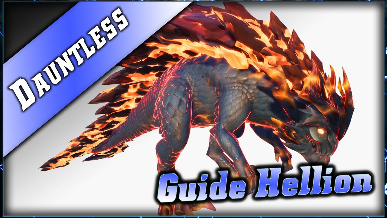 Dauntless • Guide Hellion Chasse ► Dauntless Epic Games Gameplay
