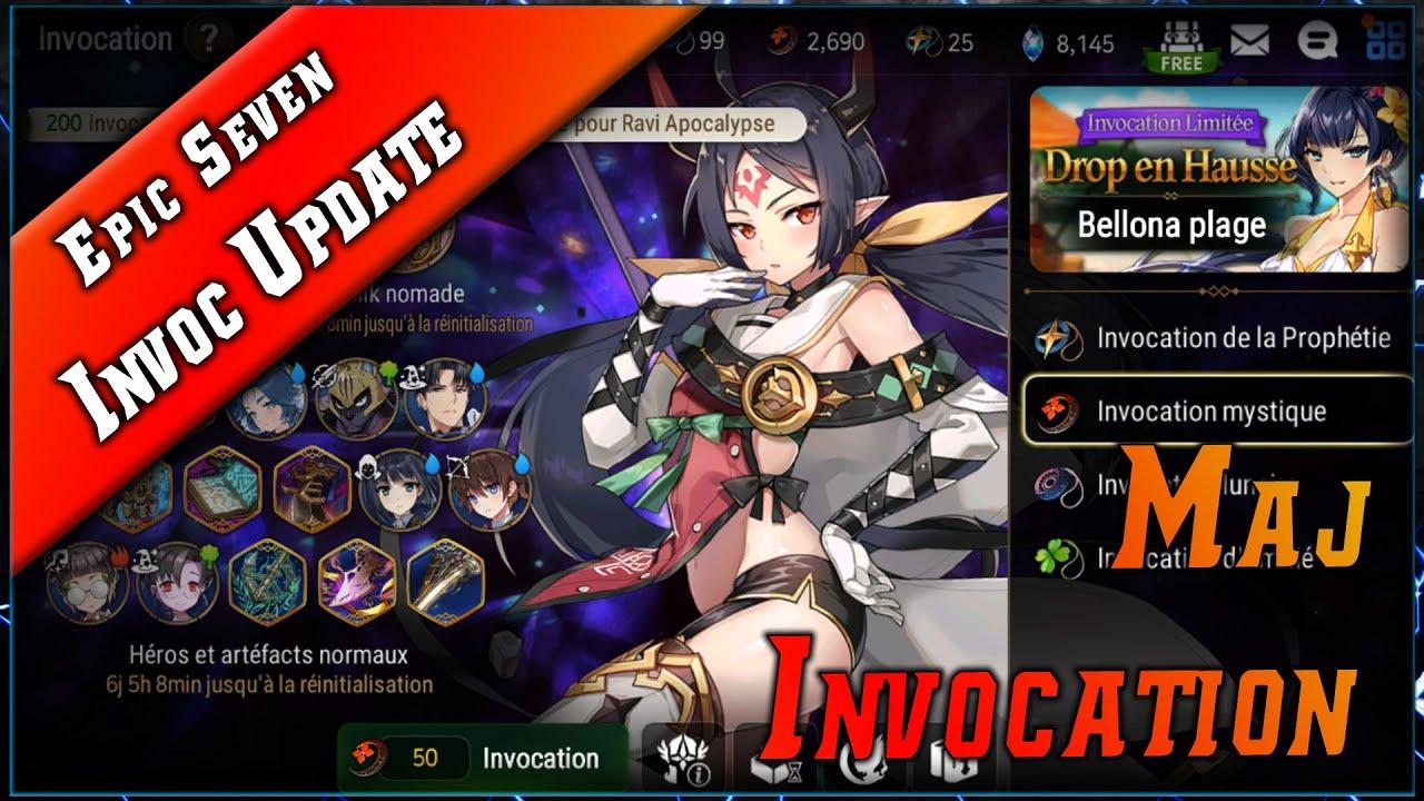 Epic Seven • Update Invocations ► [ Epic7 FR ]