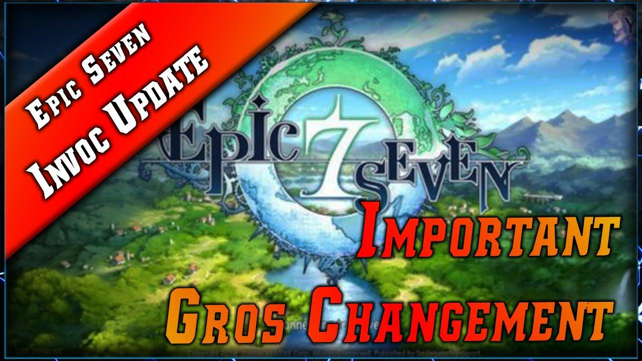 Epic Seven • Changement sur les Invocations & Refund 50% Mystic / Moonlight ► [ Epic7 FR ]