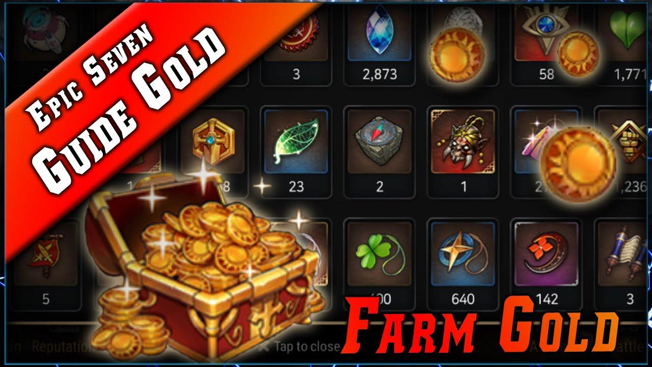 Epic Seven • Comment Farm le Gold ? ► [ Epic7 FR ]