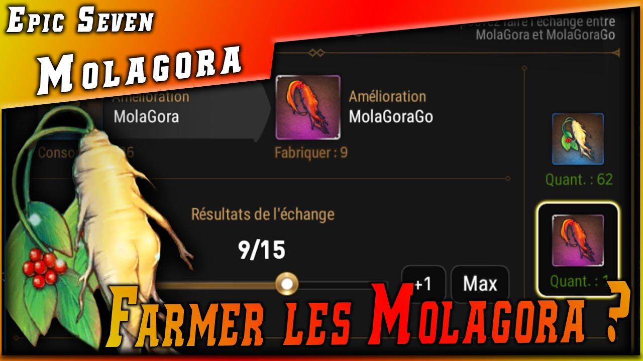Guides • Comment avoir des Molagora & Molagorago ? ►【Epic Seven】