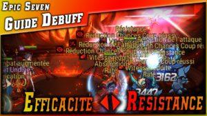 Guides • Efficacité & Résistance au effet ? Explication