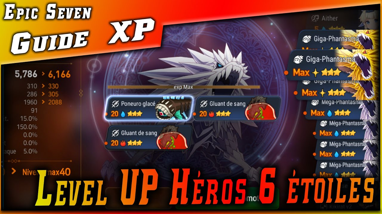 Farm Fodder & Level up Héros 6 étoiles
