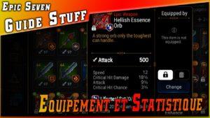 Guide • Les Équipement & Sub-stats & Set