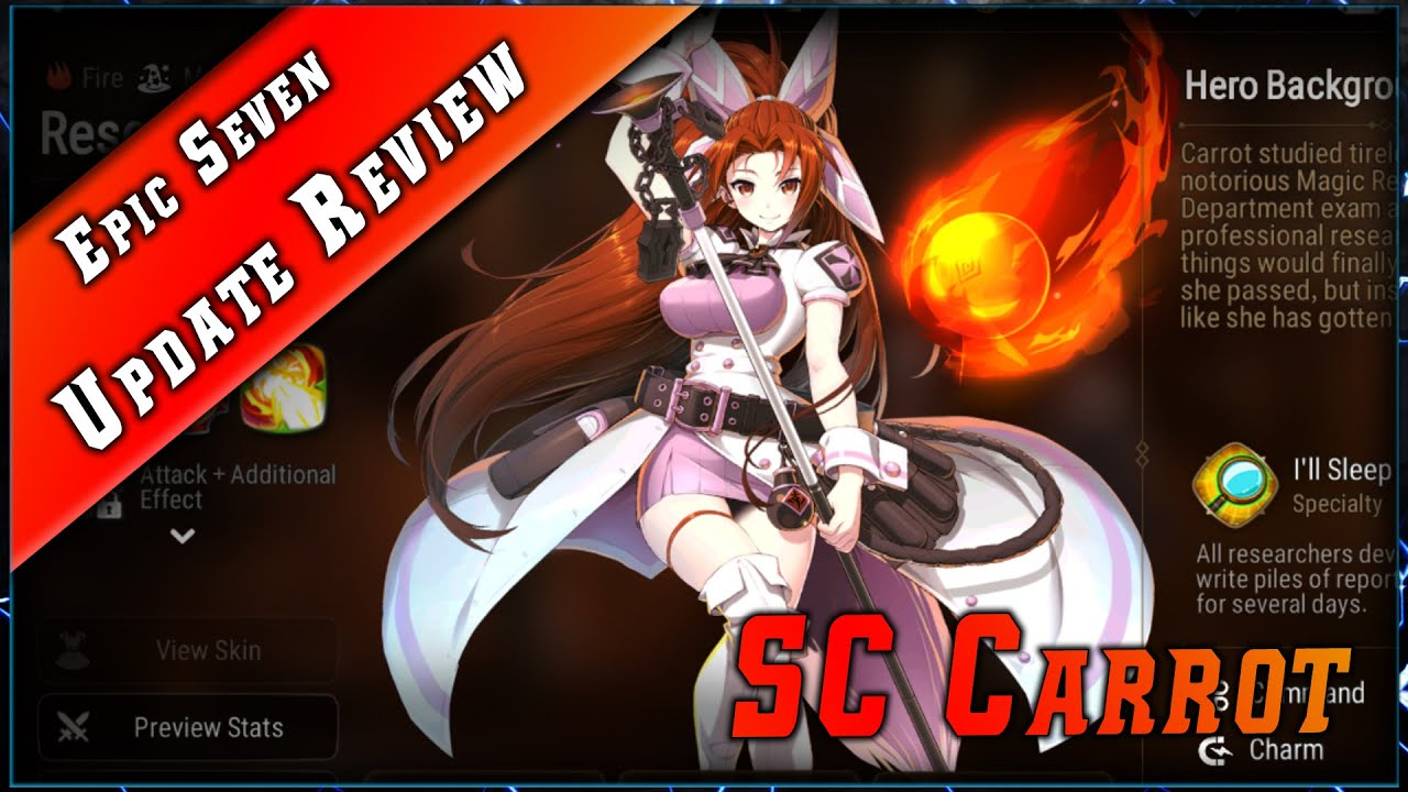Skin Angelica & Researcher Carrot & Maj Review